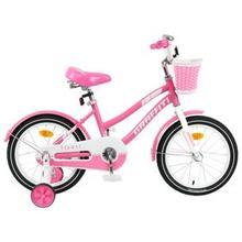 Велосипед 16' Graffiti Flower, цвет розовый/белый