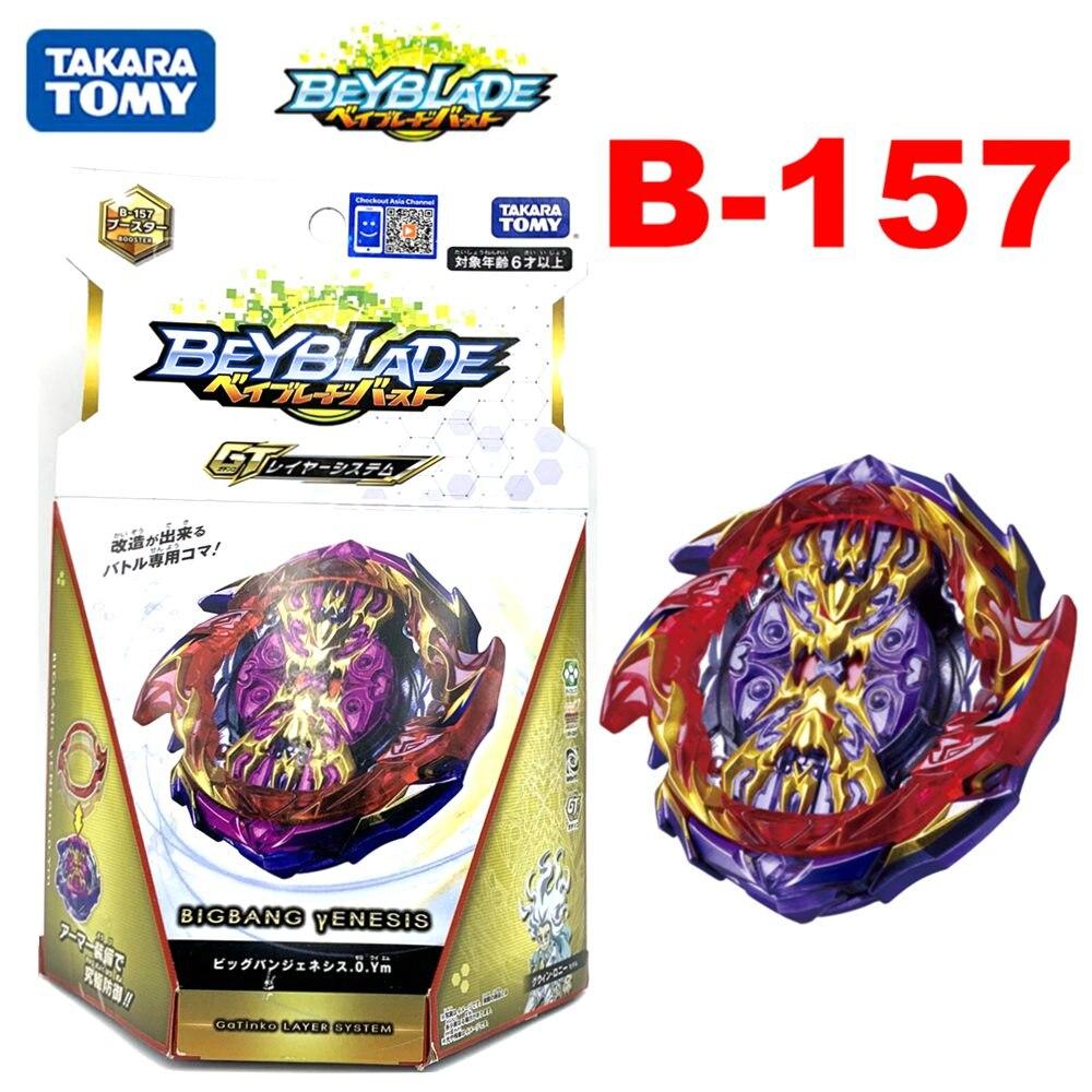 Original takara tomy beyblade burst gt B-157, grande bang genesis 0.ym com caixa original