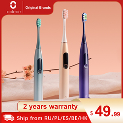 Oclean X Pro Sonic Electric Toothbrush Adult Waterproof Ultrasonic automatic Fast Charging Tooth Brush With Touch Screen