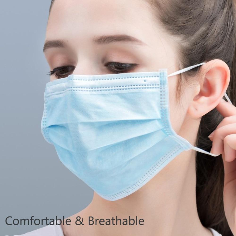 Covid19 Filter Mouth Face Coronavirus Antibacterial Mondmasker Washable Protection Masks Disposable Medical Face Mask Washable