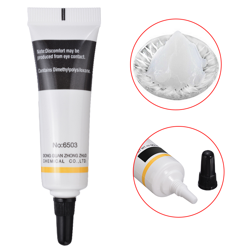 2pcs/set Hot Selling 10g Food Grade Silicon Grease O-Ring Waterproof Silicon Grease Lubricant O-Ring Lubrication