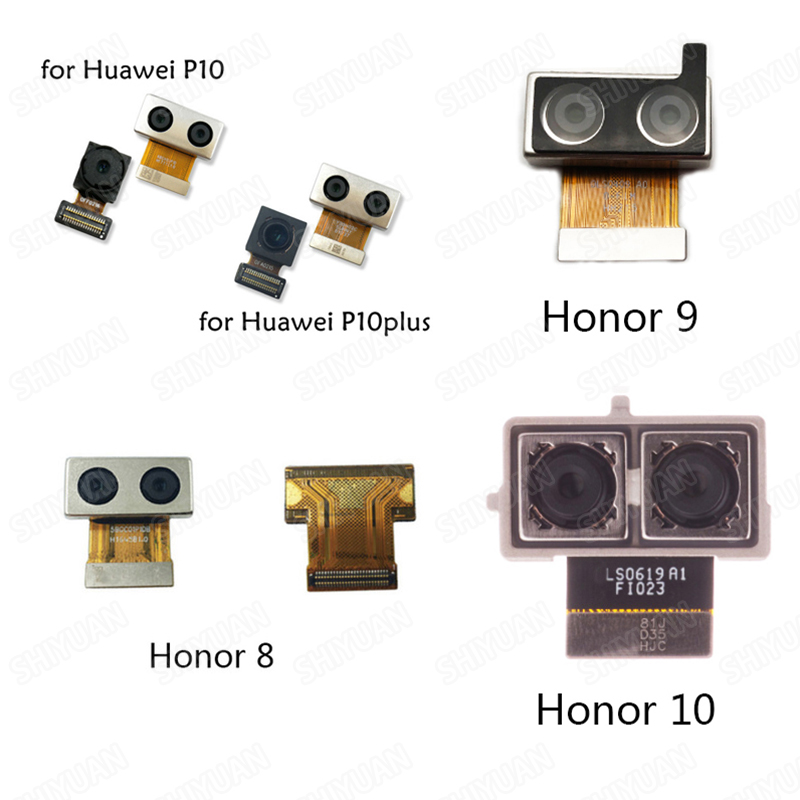 Front Back Rear Camera Flex Cable For HUAWEI Honor 8 9 10 Lite 8C 8X Main Dual Camera Module Flex Replacement