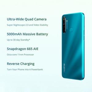 Image 2 - Global Version OPPO Realme 5i  (RMX2030) 4GB 64GB Snapdragon 665 AIE 12MP Quad Camera 6.5 Smartphone 1600x720 5000mAh 4G