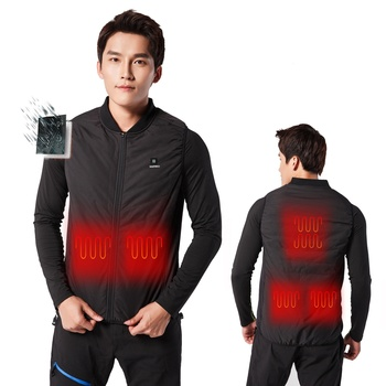 Excellent manufacturer selling high performance far infrared mens heated vest
