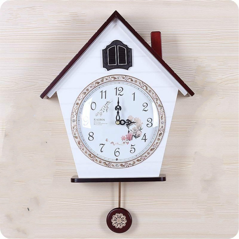 Modern Cuckoo Clock Wood Light Controlled Time Cuckoo Clocks Wall Clock Wall Clocks Aliexpress