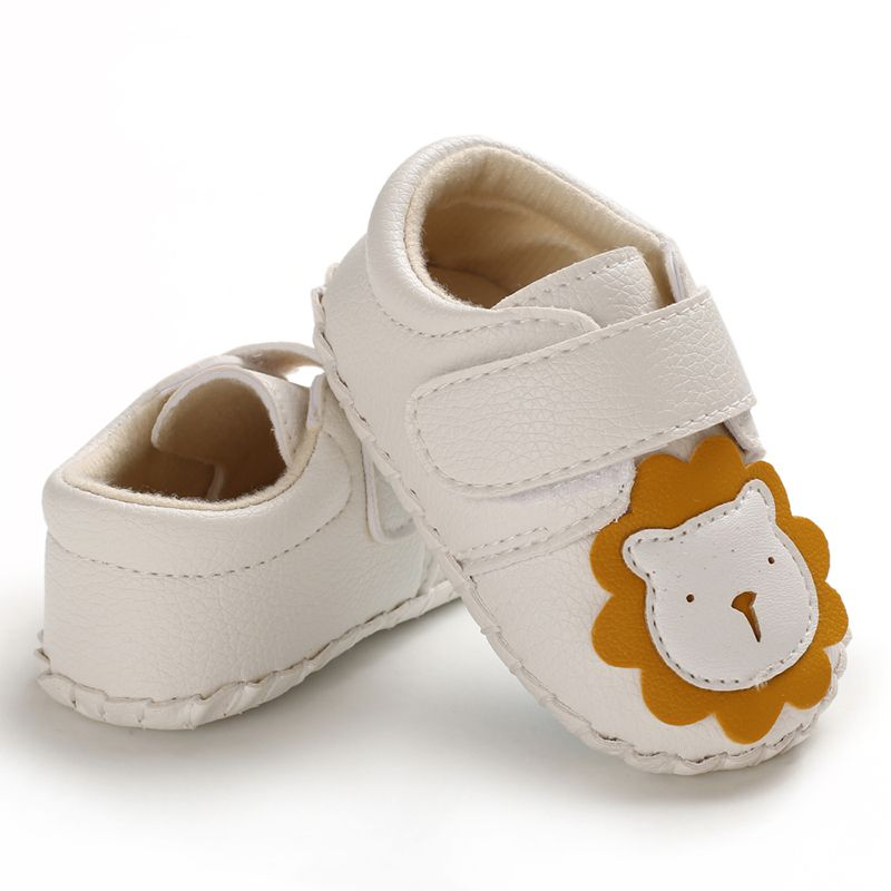 Toddler Infant Newborn Baby Girl Cartoon Lion Shoes Crib Shoes Size 0-18 Months Baby Shoes