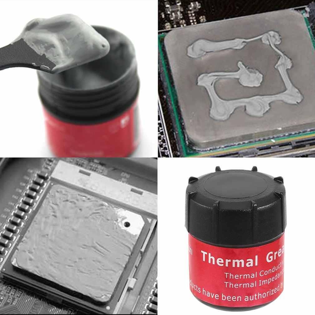 サーマルグリース導電性シリコーンペースト冷却クーラーヒートシンク PC 6LW9 CPU ヒートシンクの化合物シリコーンペースト