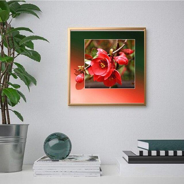 Фото diy 5d алмазная живопись цветок алмазная вышивка мозаика стразы