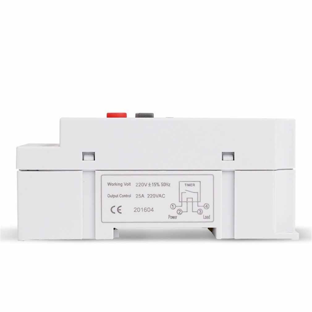 SINOTIMER TM630S-2 7 jours par semaine LCD minuterie Programmable numérique avec intervalle 1 seconde sortie directe de puissance
