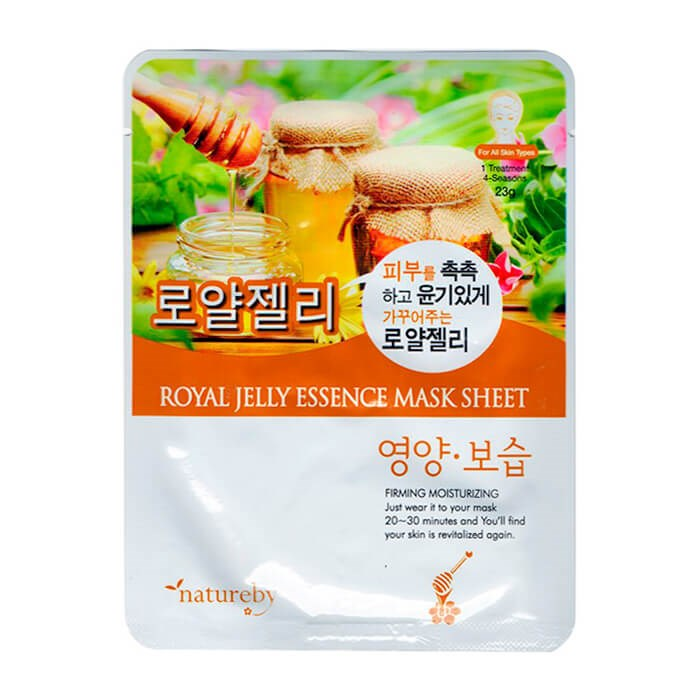 Natureby Non-nutritious Mask With Royal Milk Extract 23g