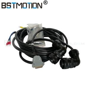 Image 3 - Servomoteur AC 600/800W, CNC W, kw, 1,5 kw, 8kw, 110st, avec servomoteur + câble encodeur de 3 mètres, pour routeur