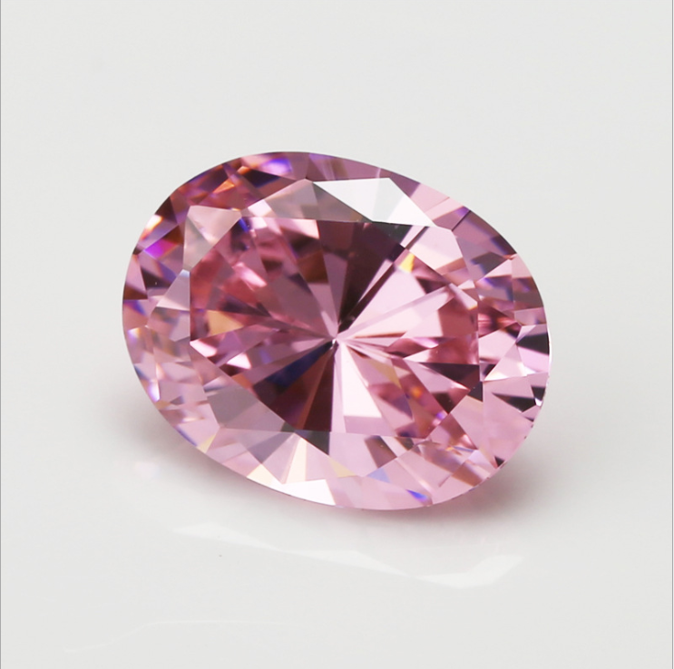 HUGE Unheated 56.58ct VVS Pink Zircon 18X25mm Oval Cut AAAA+ Loose Gemstone