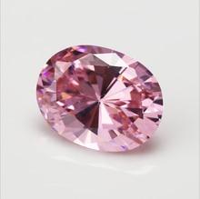HUGE Unheated 56.58ct VVS Pink Zircon 18X25mm Oval Cut AAAA+ Loose Gemstone