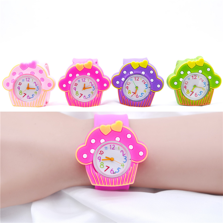 Hot Children Gifts Colorful Silicone Slap Game Watches For Kids Sport Watch 1-6 Years Child Clock Horloge Kind