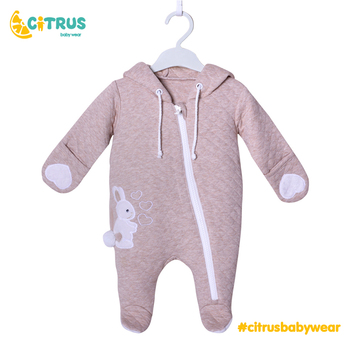CITRUS Baby Girls Boys Clothes 100% Cotton Romper Costume 3 6 9 12 Month Newborn Kids Clothing For Girl