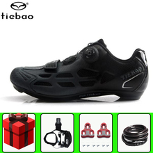 TIEBAO Road Cycling Shoes sapatilha ciclismo Men add pedal s