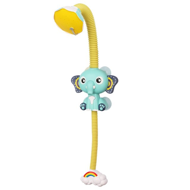 Bath Toys Baby Water Game Elephant Model Faucet Shower Electric Water Spray Toy For Kids Swimming Bathroom Baby Toys 1