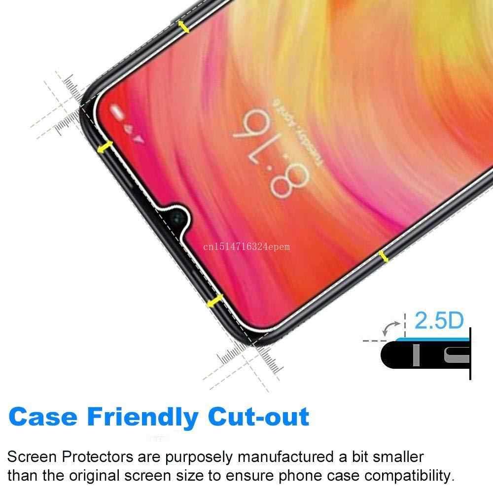 Szkło hartowane 2 sztuki dla Xiaomi Redmi Note 7 6 k20 Pro Screen Protector dla Redmi iść 6A 7A szkło ochronne Film
