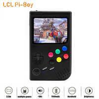 Новая игровая консоль для мальчиков 2,0 LCL Pi, Raspberry Pi для ретро игр, Классический Портативный игровой плеер для мальчиков, Raspberry Pi 3B/A +