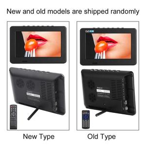 Image 5 - Leadstar Digital HD TV 800x480 7 Inch DVB T2 TV And Analog Television Receiver support Memory Card USB DVB T TV