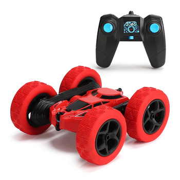 2.4G RC Stunt Drift Deformation Buggy Car Rock Crawler Roll Car 360 Degree Flip Kids Robot Remote Control Car Toys for Gifts deerc 1 22 racing rc car rock crawler radio control truck 60 mins play time 20 km h 2 4 ghz drift buggy toy car for kids