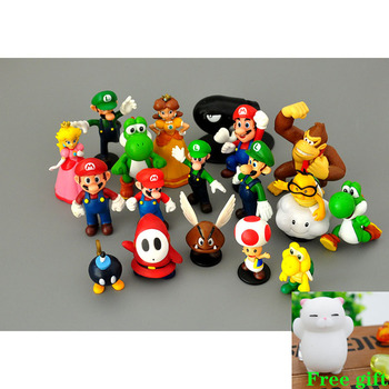 18 sztuk partia Super Mario Bros pcv Action Figures zabawki Yoshi brzoskwinia księżniczka Luigi nieśmiały facet Odyssey osioł Kong Model Cartoon lalki tanie i dobre opinie GWSVTIX Unisex keep away from fire Remastered version 2-4 lat 5-7 lat 8-11 lat 12-15 lat Dorośli 14 lat 8 lat 6 lat