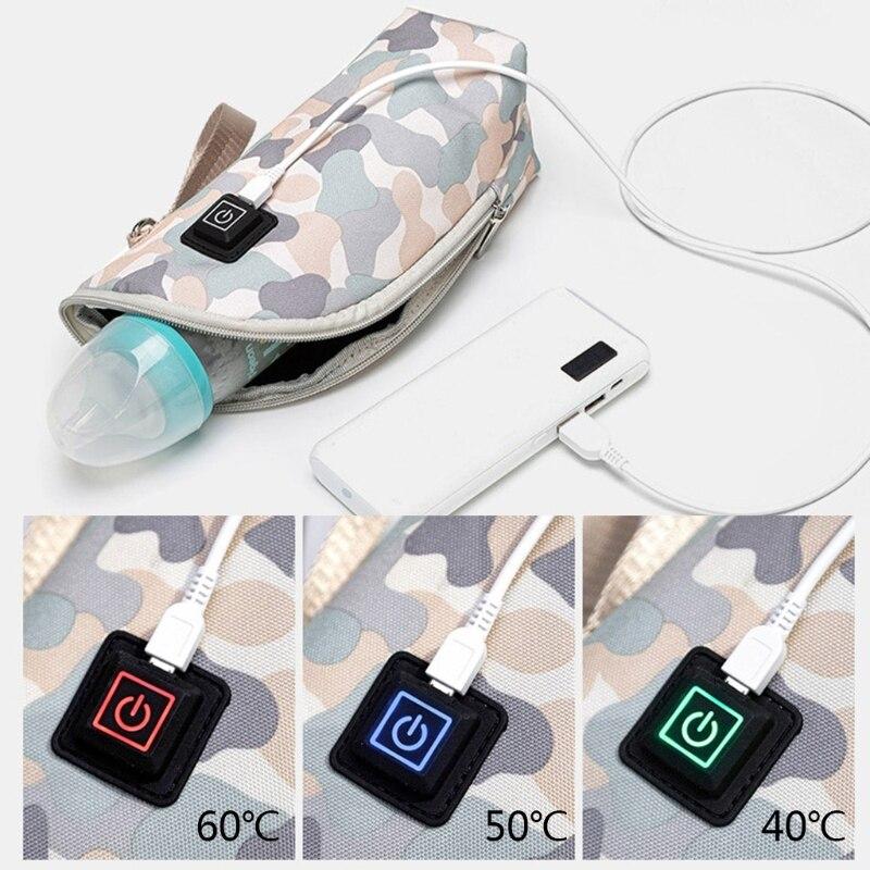Heater Bottle-Warmer Milk-Warmer-Insulation Feeding-Bottle Travel Baby Portable USB Infant