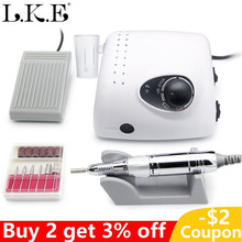 Electric Nail Drill Machine Apparatus for Manicure Pedicure 20000-35000 RPM Nail Art Equipment with Nail Drill Bits  Cutter недорого