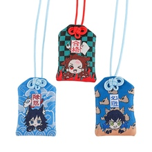 Talisman-Decoration Anime Cartoon Students Cosplay Demon Amulet Good-Luck No-Yaiba Tanjirou