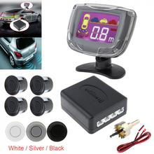 цена на Waterproof Intelligent Parking Assistance System with 4  Parking Sensors and LCD Display Monitor - 3 Optional Color