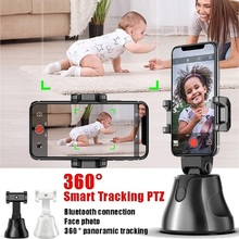 360 Rotation Auto Face Tracking Object Tracking vlog Camera Phone Holder Portable All-in-one Auto Smart Shooting Selfie Stick particle filters for object tracking
