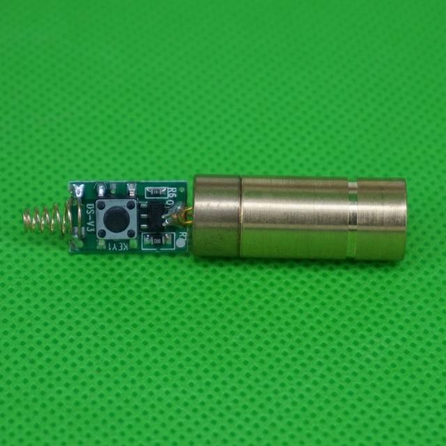 LETAOSK 532nm 50Mwโมดูลเลเซอร์ไดโอดฟรีDriver & ฤดูใบไม้ผลิสำหรับLABคงที่ทำงาน3Vอายุการใช้งาน5000ชั่วโมง