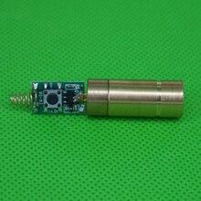 LETAOSK 532nm 50mw ירוק לייזר דוט מודול דיודה עם אור משלוח נהג & אביב למעבדה יציב עבודה 3V Lifepan 5000 שעות