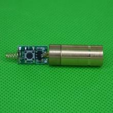 Letaosk 532nm 50Mw Groene Laser Dot Module Diode Met Licht Gratis Driver & Lente Voor Lab Steady Werken 3V Lifepan 5000 Uur