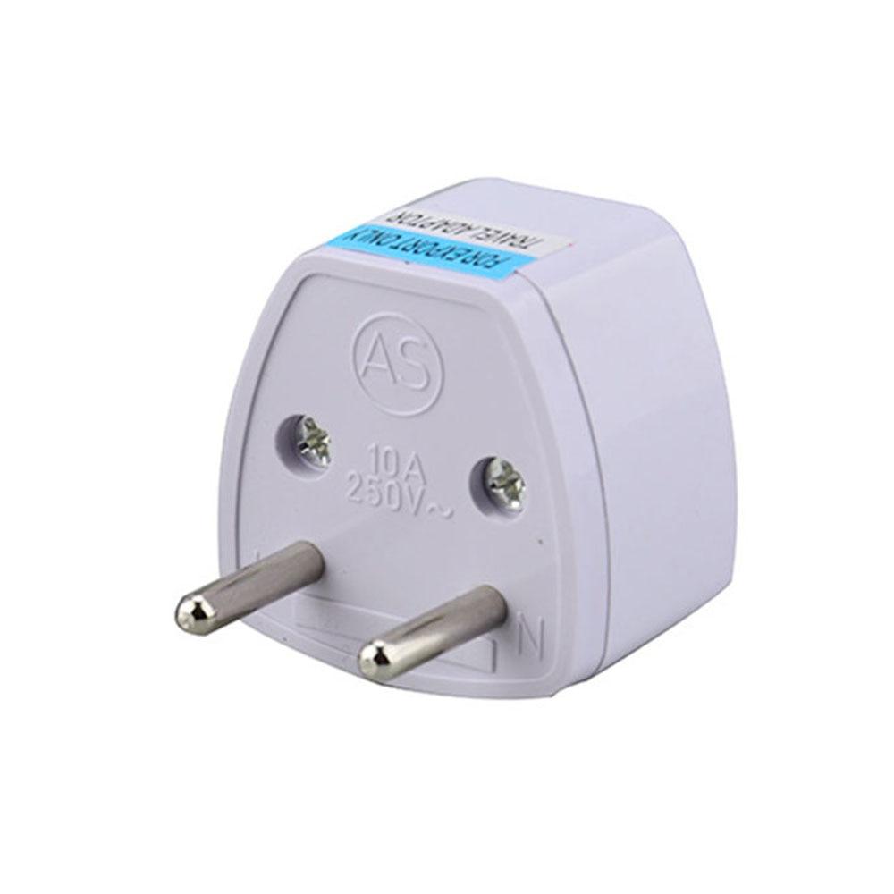 EU Plug Converter European Standard Adapter Converter Electrical Travel Charger Power Electrical Tool 250V 10A 1000W