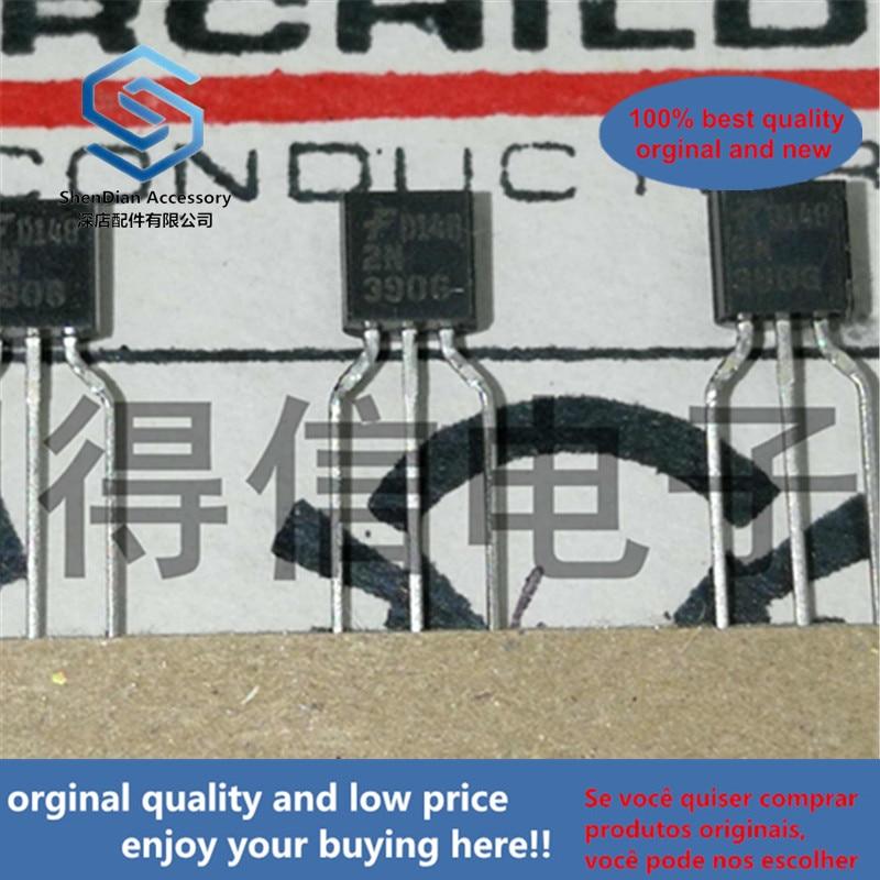 50pcs 100% Orginal New KA3906 2N3906 3906 Copper Foot Triode TO-92 Real Photo