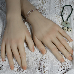مجموعة من 2 مرنة انحناء عارضة أزياء اليد ، مسمار الفن التدريب ممارسة خاتم حامل العرض-متعددة الوظائف
