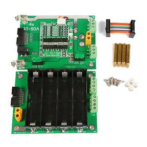 Image 3 - 16V 18650 support de batterie bricolage batterie externe 4S BMS équilibreur de batterie 30A 90A 16V boîte de batterie pour bricolage Kit Ebike Batteries de voiture électrique