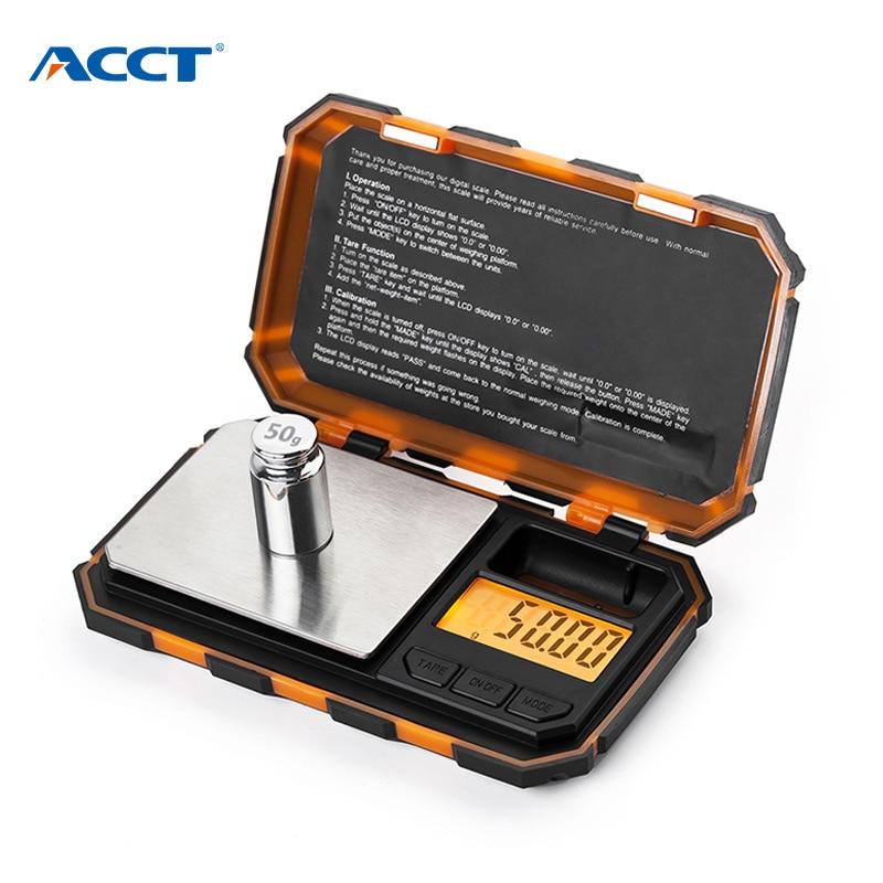Цифровые весы из нержавеющей стали, высокоточные электронные весы для ювелирных изделий из стерлингового серебра золота 0,01