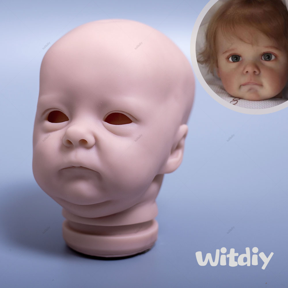 Witdiy Levensechte Kit 18 Inch Reborn Kits Unpainted Reborn Kit Reborn Baby Kit Ongeverfd Doll Blank Kit Pasgeboren Bebe Kit