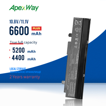 Apexway 6 Cells 11.1v A32-1015 Laptop battery For ASUS Eee PC 1011B 1011BX 1011C 1011CX 1011P 1011PDX 1011PD 1011PN 1011PX image