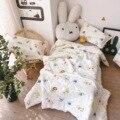 Norte europeu-estilo puro algodão shuang ceng sha crianças cobertor fino macio e confortável verão quilt capa airable bebê g