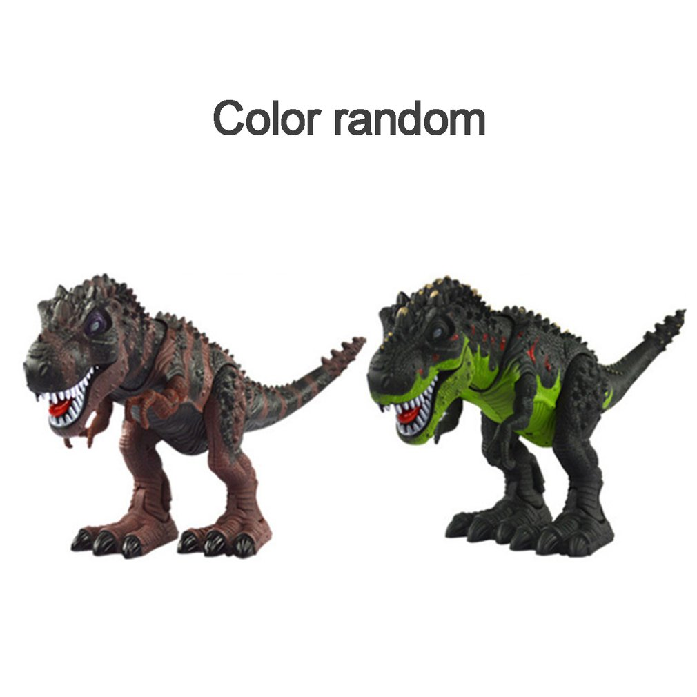 Electric Walking Dinosaur With Light Sound Kids Toy Jurassic Park Real Movement T-Rex Figure Toy Classic Model Toys Xmas Gift image