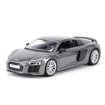 Maisto 124 Audi R8 V10 Plus спортивный автомобиль статические литые транспортные средства Коллекционная модель автомобиля игрушки