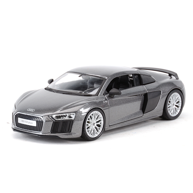 Maisto 1:24 Audi R8 V10 Plus Sports Car Static Simulation Diecast Alloy Model Car
