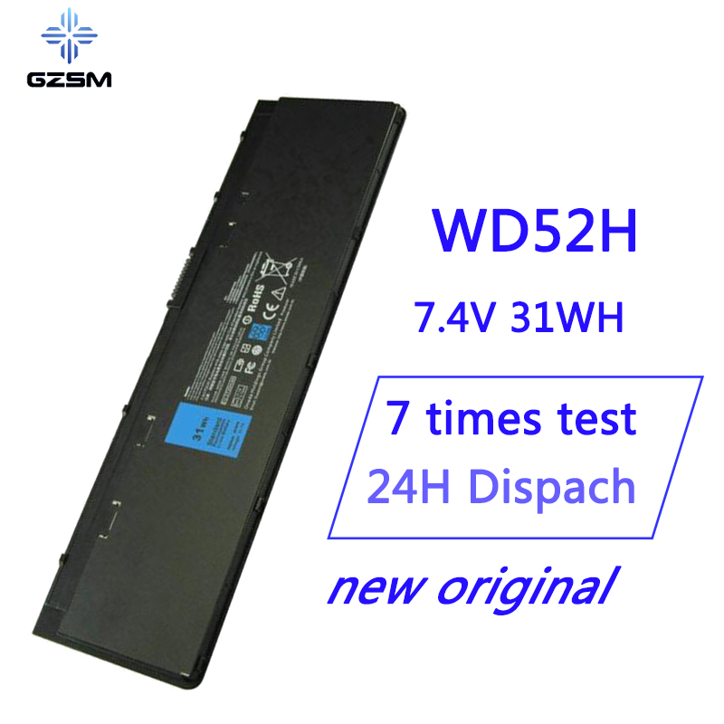 7.4V 31WH WD52H New Original Laptop Battery For Dell WD52H GVD76 HJ8KP Battery For Laptop NCVF0 E7240 E7250 BATTERY