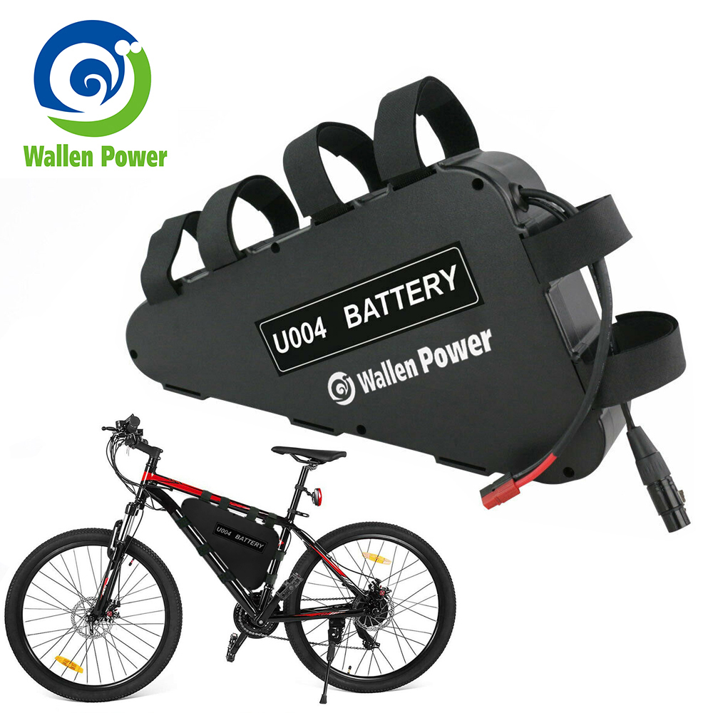 Electric Bicycle 48V 15Ah Triangle E-bike Lithium Battery for 500W 750W Motor