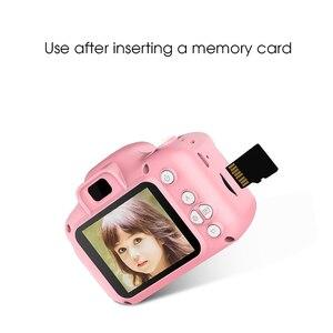 Image 3 - Детская мини камера, детские развивающие игрушки для мальчиков и девочек, детские подарки, подарок на день рождения, цифровая камера 1080P, проекционная видеокамера