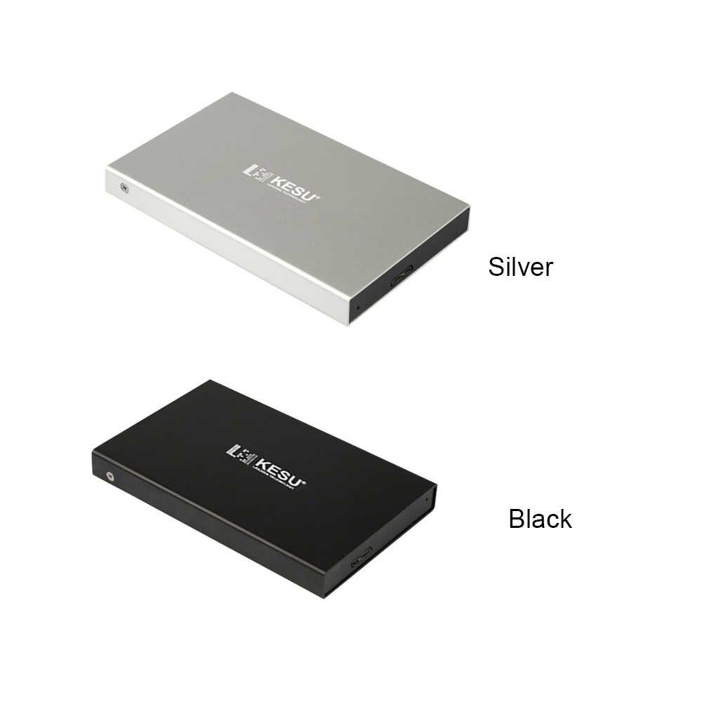 KESU عناصر محرك أقراص صلبة HDD USB 3.0 قرص صلب خارجي 120G/160G/250G/320G/500G /1 T/2 T المحمولة HDD الخارجية HD ل PC