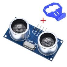 Detector de ondas ultrassônico, 1 peça, HC-SR04 para mundo, módulo de ranging, picaxe, microcontrolador hc sr04 para arduino, sensor de distância